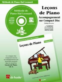 Leçons de Piano Volume 4. CD laflutedepan