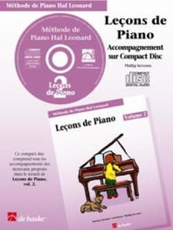 Leçons de Piano Volume 2. CD laflutedepan