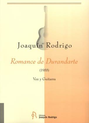 Romance de Durandarte - Joaquin Rodrigo - Partition - laflutedepan.com