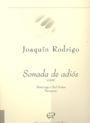 Sonada de Adios RODRIGO Partition Piano - laflutedepan