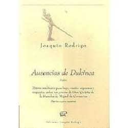 Ausencias de Dulcinea - Joaquin Rodrigo - Partition - laflutedepan.com