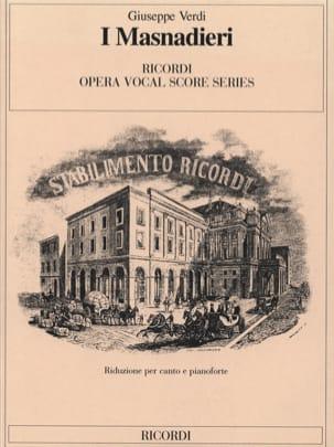 Giuseppe Verdi - I Masnadieri - Partition - di-arezzo.fr