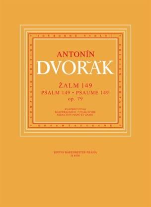 Psaume 149 Op. 79 - DVORAK - Partition - Chœur - laflutedepan.com