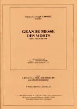 Grande Messe des Morts - François Joseph Gossec - laflutedepan.com