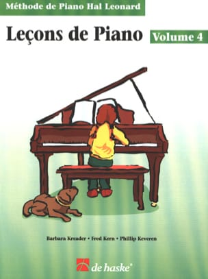Kreader / Kern Jerome / Keveren - Lezioni di piano Volume 4 - Partitura - di-arezzo.it