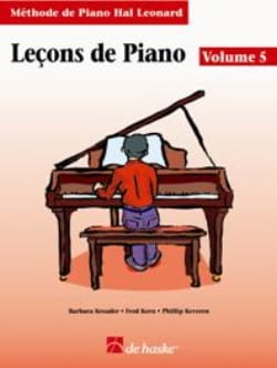 Kreader / Kern Jerome / Keveren - Lezioni di piano Volume 5 - Partitura - di-arezzo.it