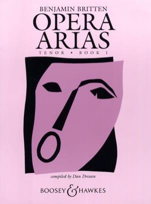 Benjamin Britten - Opera Arias Ténor Volume 1 - Partition - di-arezzo.fr