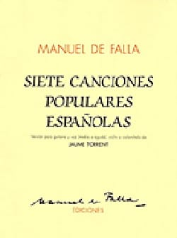 DE FALLA - 7 Canciones Populares Espanolas - Sheet Music - di-arezzo.co.uk