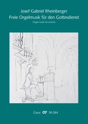 Freie Orgelmusik Fur Den Gottesdienst Joseph Rheinberger laflutedepan
