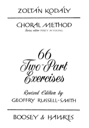 Zoltan Kodaly - 66 Two-Part Exercises - Sheet Music - di-arezzo.co.uk