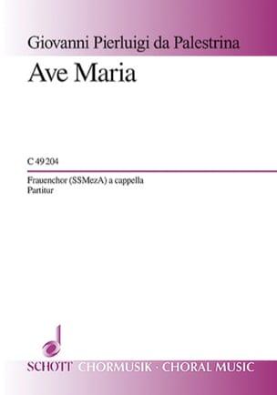 Ave Maria Giovanni Pierluigi da Palestrina Partition laflutedepan