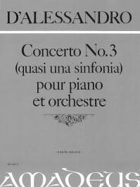 Alessandro D' - Concerto N°3 - Partition - di-arezzo.fr