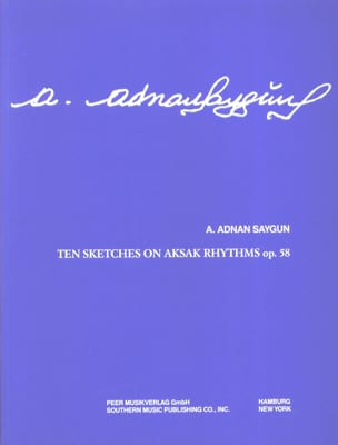 10 Sketches On Aksak Rhythms Opus 58 Adnan Saygun laflutedepan