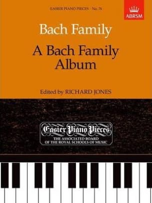 Bach - A Bach Family Album - Partition - di-arezzo.fr