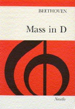 Ludwig van Beethoven - Messe En Ré Op. 123 (Mauvaise Edition) - Partition - di-arezzo.fr