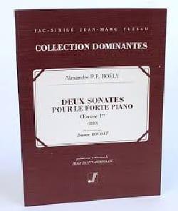 2 Sonates Pour le Forte Piano Op. 1. laflutedepan