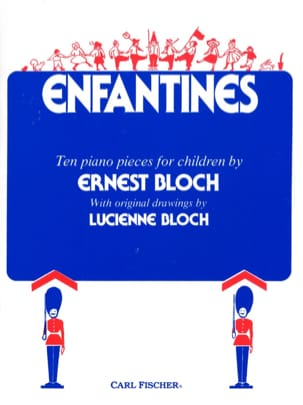Ernest Bloch - Enfantines - Sheet Music - di-arezzo.co.uk
