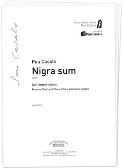 Pablo Casals - Nigra Sum. TTB - Sheet Music - di-arezzo.co.uk