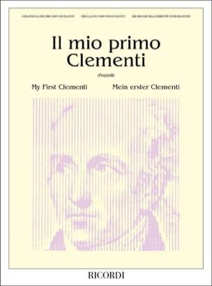 Muzio Clementi - Il Mio Primo - Partition - di-arezzo.fr