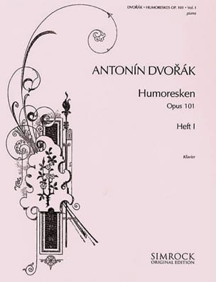 Humoresques Opus 101 Vol 1 - Anton Dvorak - laflutedepan.com