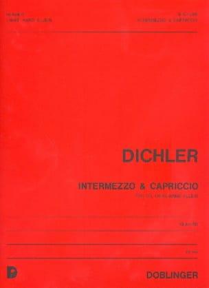 Dichler - Intermezzo et Capriccio - Partition - di-arezzo.fr