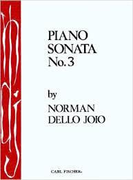 Sonate N°3 - Joio Norman Dello - Partition - Piano - laflutedepan.com