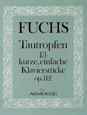 Fuchs - Tautropfen Op. 112 - Partition - di-arezzo.fr