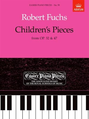 Robert Fuchs - Children's Pieces - Partition - di-arezzo.fr