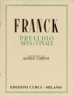 Prélude, Aria et Finale. - César Franck - laflutedepan.com