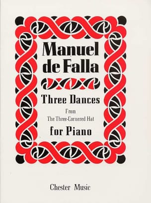 Manuel de Falla - 3 Danses Du Tricorne - Partition - di-arezzo.fr