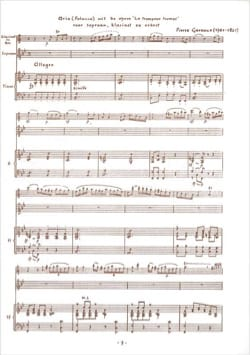 Pierre Gaveaux - Air of the Deceived Deceiver - Sheet Music - di-arezzo.com