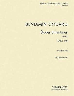 Benjamin Godard - Etudes Enfantines Op. 149 Vol 1 - Partition - di-arezzo.fr