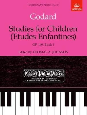 Benjamin Godard - Children's Studies Opus 149 Volume 1 - Sheet Music - di-arezzo.com