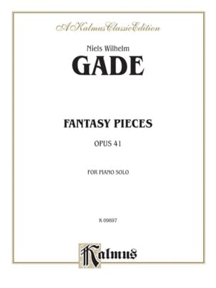 Fantasy Pieces Op. 41 Gade Partition Piano - laflutedepan