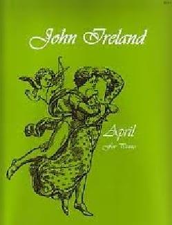 April - John Ireland - Partition - Piano - laflutedepan.com