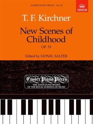 Theodor Kirchner - New Scenes Of Childhood Op. 55 - Sheet Music - di-arezzo.com