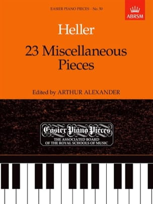 23 Miscellaneous Pieces Stephen Heller Partition Piano - laflutedepan
