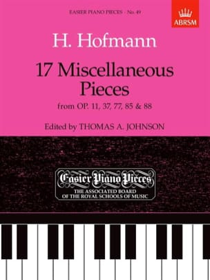Heinrich Hofmann - 17 Miscellaneous Pieces - Sheet Music - di-arezzo.com