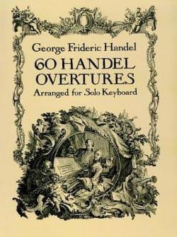 60 Ouvertures. HAENDEL Partition Piano - laflutedepan