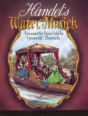 Watermusik - HAENDEL - Partition - Piano - laflutedepan.com
