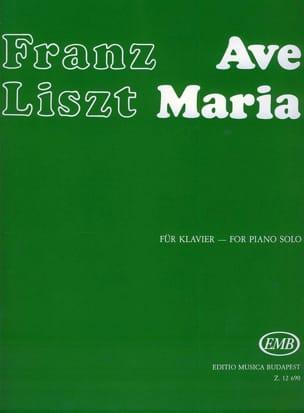 Liszt - Ave Maria - Partition - di-arezzo.fr