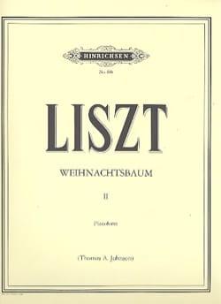 Weihnachtsbaum II Franz Liszt Partition Piano - laflutedepan