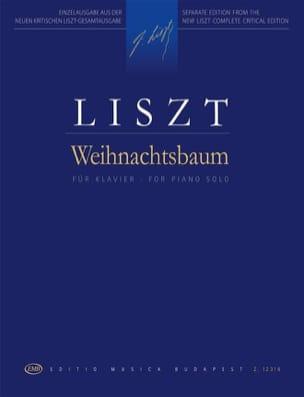 Weihnachtsbaum Franz Liszt Partition Piano - laflutedepan