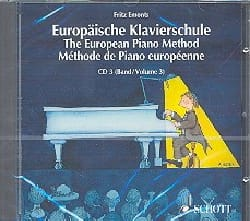 Fritz Emonts - European Method Volume 3 CD - Sheet Music - di-arezzo.com