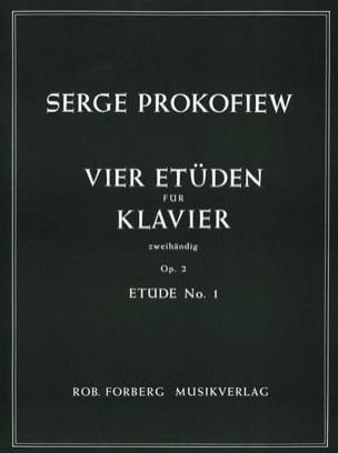 Etude Op. 2-1 - Sergei Prokofiev - Partition - laflutedepan.com