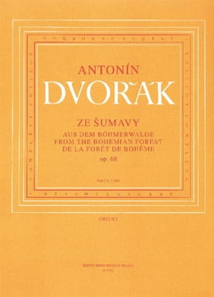 DVORAK - From the Bohemian Forest Opus 68. 4 Hands - Sheet Music - di-arezzo.co.uk