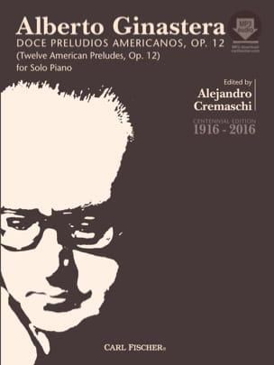Alberto Ginastera - 12 American Preludes op. 12 full - Sheet Music - di-arezzo.co.uk