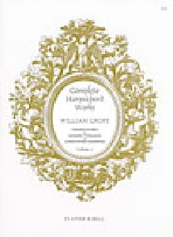 William Croft - Complete Harpsichord Works Volume 2 - Sheet Music - di-arezzo.com