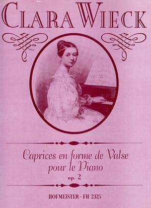 Clara Schumann - Caprices En Forme de Valses Pour le Piano Opus 2 - Partition - di-arezzo.fr