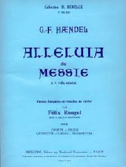 HAENDEL - Alleluia Of Messiah - Sheet Music - di-arezzo.co.uk